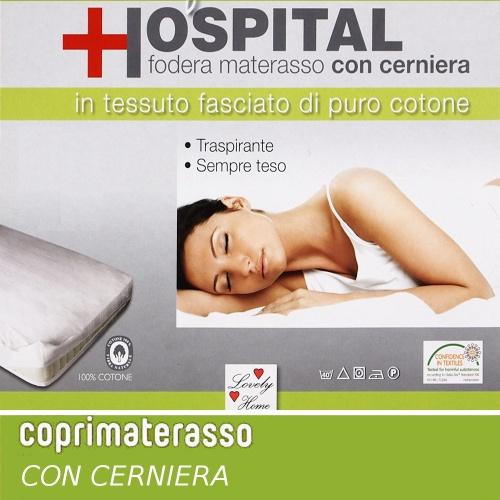 Tavella Due Di Alberto E Manuel C S N C Coprimaterasso Con Cerniera Una Piazza E Mezza Art Hospital